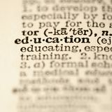 词典教育项 库存照片