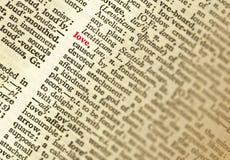 词典 免版税库存图片