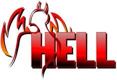 词地狱 向量例证