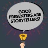 词文字文本好赠送者是讲故事者 伟大的通信装置的企业概念讲优秀故事删去卵形 皇族释放例证