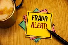 词文字文本欺骗戒备诱导电话 被怀疑的安全消息欺骗活动的企业概念 免版税库存图片