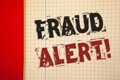 词文字文本欺骗戒备诱导电话 被怀疑的安全消息欺骗活动的企业概念 图库摄影