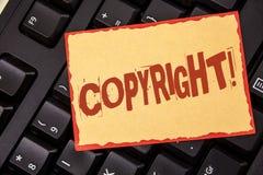 词文字文本版权诱导电话 对的在稠粘没有写的知识产权海盗行为说不企业概念 库存照片