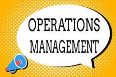 词文字文本运行管理 保证的企业概念输入输出生产和供应 库存例证