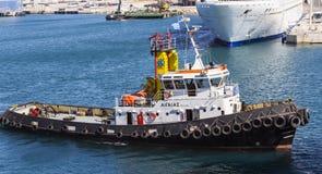 试验船 库存图片