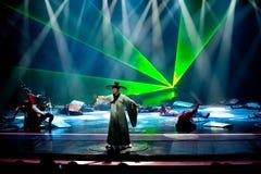 诗人ï ¼ šBadashanren--历史样式歌曲和舞蹈戏曲不可思议的魔术-淦Po 免版税库存照片