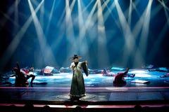 诗人ï ¼ šBadashanren--历史样式歌曲和舞蹈戏曲不可思议的魔术-淦Po 库存图片
