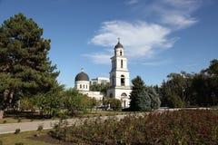 诞生大教堂在基什尼奥夫ChiÈ™inău摩尔多瓦 免版税库存图片