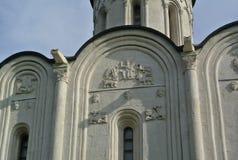 诞生大教堂XII-XVI世纪 - 最旧的大厦在苏兹达尔 正统的结构 金戒指俄国 库存图片