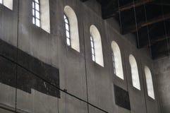 诞生的教会内部  免版税库存照片