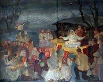 诞生耶稣 免版税库存照片