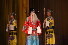 """诡谲总理杨Family†的北京Opera""""妇女将军 免版税图库摄影"""