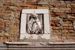 详细威尼斯:在城市中的艺术性的技巧 免版税库存图片