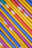 详细石墨模式铅笔 免版税库存照片