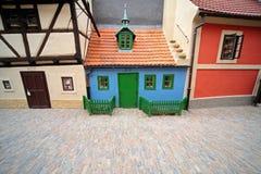 详细资料中世纪布拉格街道 免版税图库摄影