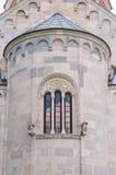 详细资料修道院studenica 免版税库存照片