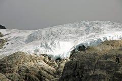 详细资料冰川高山 库存图片