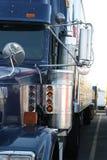 详细资料卡车 库存图片