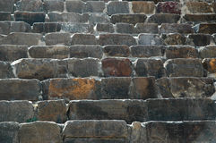 详细资料台阶石头 免版税库存图片