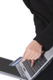 详细资料在线采购 免版税库存照片