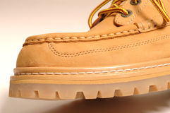 详细资料宏观鞋子绒面革 库存照片