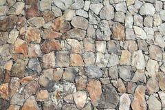 详细资料岩石墙壁 免版税库存照片
