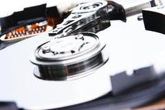 详细资料开放盘的坚硬 免版税库存图片