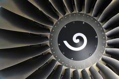 详细资料引擎喷气机 库存图片