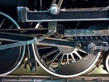 详细资料引擎蒸汽 库存照片