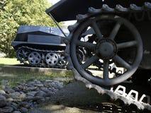 详细资料德国人坦克 免版税图库摄影