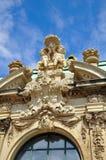 详细资料德累斯顿博物馆zwinger 免版税库存照片