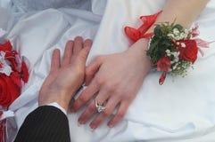 详细资料我婚礼 免版税库存图片