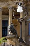 详细资料房子歌剧巴勒莫西西里岛 免版税库存照片
