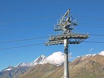 详细资料推力杆滑雪 库存照片
