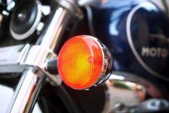 详细资料摩托车 免版税库存照片