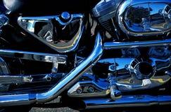 详细资料摩托车 免版税图库摄影