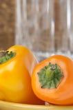 详细资料新鲜的胡椒甜点 免版税图库摄影
