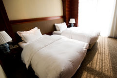 详细资料旅馆客房 免版税库存图片