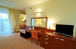 详细资料旅馆客房 免版税库存照片