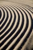 详细资料波纹沙子 免版税库存照片