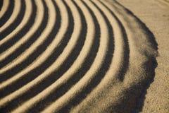 详细资料波纹沙子 库存照片
