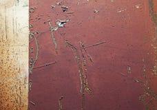 详细资料生锈金属的部分 库存图片