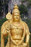 详细资料神北印度的murugan雕象 免版税库存照片