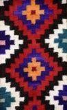 详细资料秘鲁人纺织品 免版税库存图片