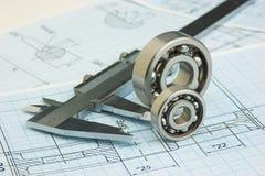 详细资料结构工具 免版税库存照片