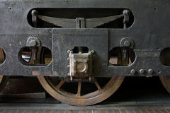 详细资料老培训轮子 免版税库存图片