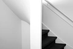 详细资料老楼梯 免版税库存照片