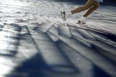 详细资料花样滑冰 免版税库存图片