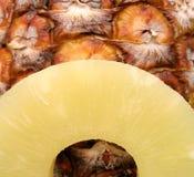 详细资料菠萝 免版税库存照片