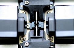 详细资料设备玻璃纤维接合 库存照片